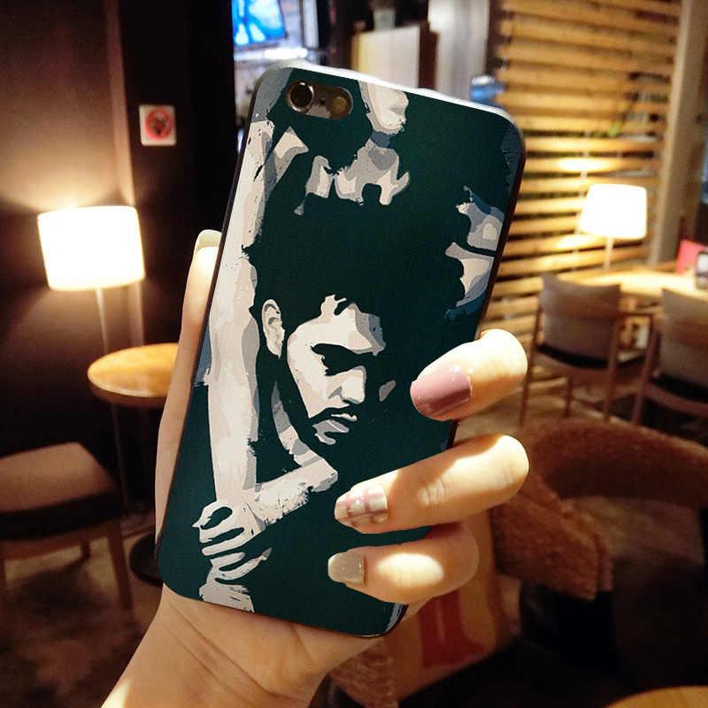 Maiyaca The Weeknd Pola Shell Mewah Asli Case untuk iPhone 11 Pro 8 7 66S Plus X 5S SE XS XR X Max Cover