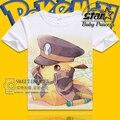 Venta caliente de la camiseta 2016 Niños camisetas de Dibujos Animados Pokemon Pocket Monster Pikachu Charmander Niños Ropa de Algodón Ropa de Las Muchachas