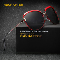 HDCRAFTER Elegant Women Polarized Sunglasses High Quality Wholesale Price Eyewear For Fishing Outdoor Sports Goggles