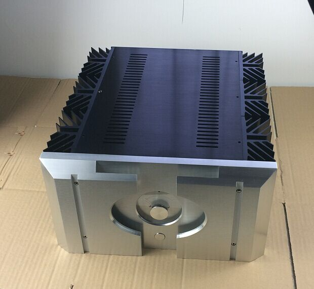 PASS 40W aluminum housing A 40W amplifier chassis case