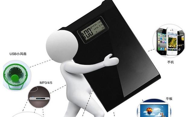 Presente da promoção Bateria Externa do telefone móvel tablet 8800 mah dupla banco de potência com lanterna