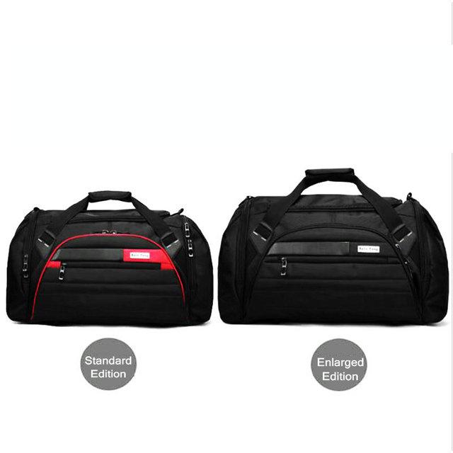 Big Outdoor Training Sport Bags Waterproof Oxford Luggage Storage Crossbody Bag Football Sports Fitness Sinlgle Shouler Bag