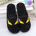 IVI novelty massage monster evil eye slippers transparent bathroom slip-resistant sandals home slippers flip flops