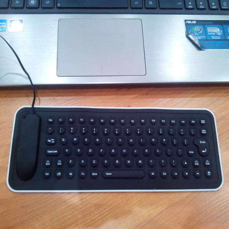 Silicone Flexible Keyboard Portable