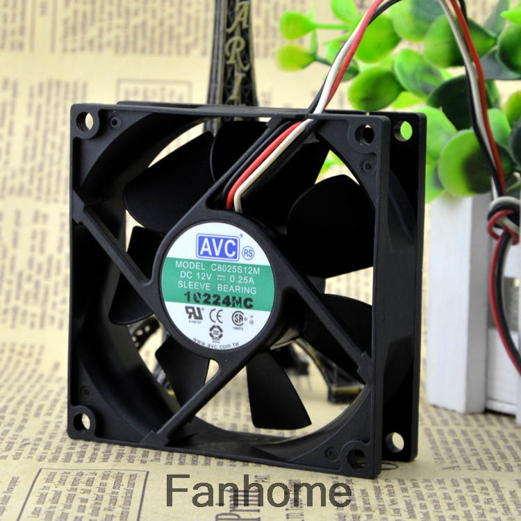 Genuine AVC DA07015T12U 7CM AMD platform cooling fan 7015 0.7A ball fan