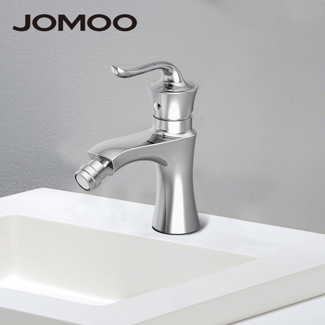 JOMOO Bathroom Mixer Bidet Faucet Mixer Tap Spout Adjustable Single Handle Single  Hole Bathroom Faucet 31012