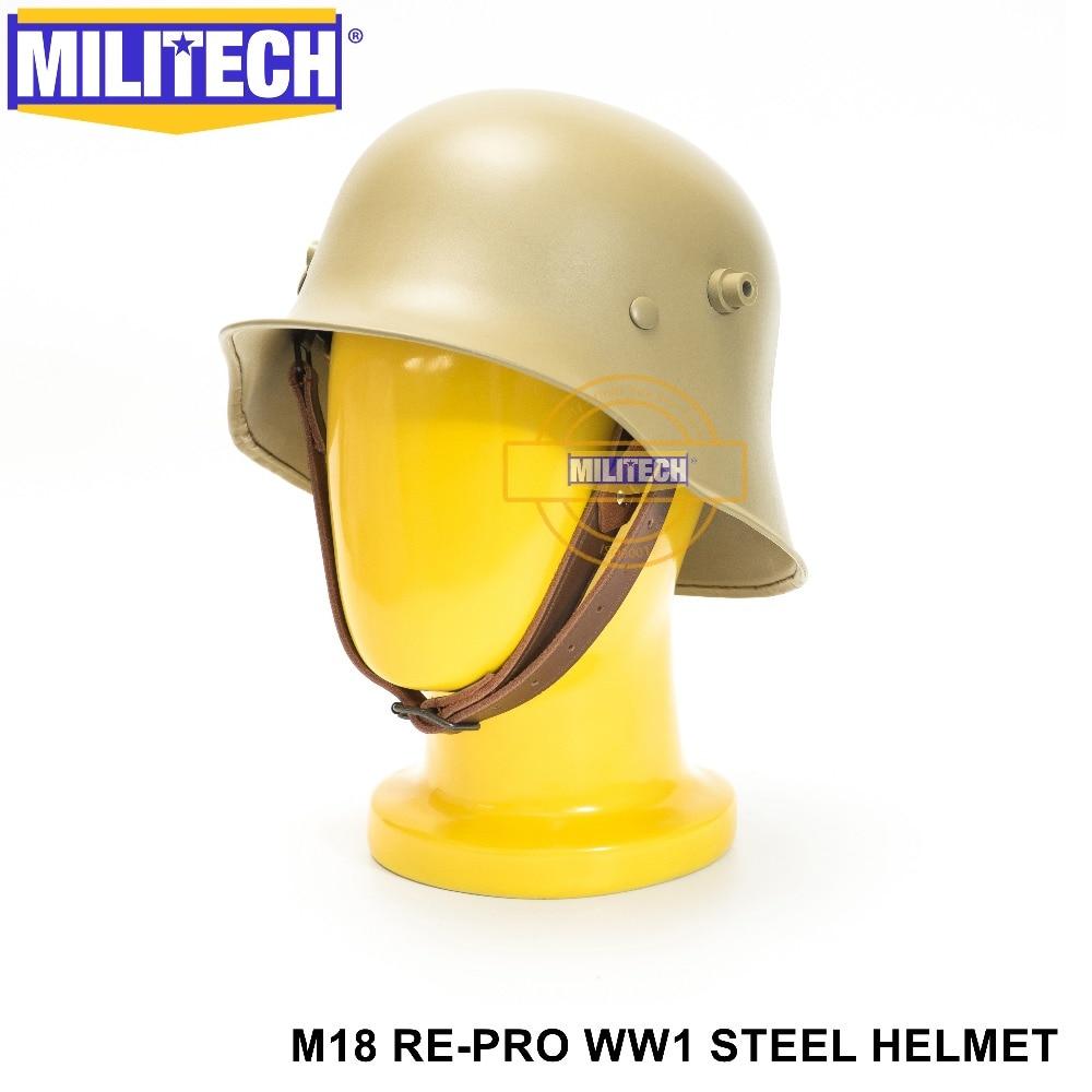Sicherheit & Schutz Freies Schiff! Militech Tan Farbige Weltkrieg Helm Sicherheit Helm Ww1 Deutsch Helm Die Great War M18 Sammlung Re Pro Helm Grade Produkte Nach QualitäT