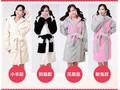 New Animal plush robe Panda sheep mouse rabbit Pajamas Sleepsuit Sleepwear Unisex pijamas bathrobe robes for women