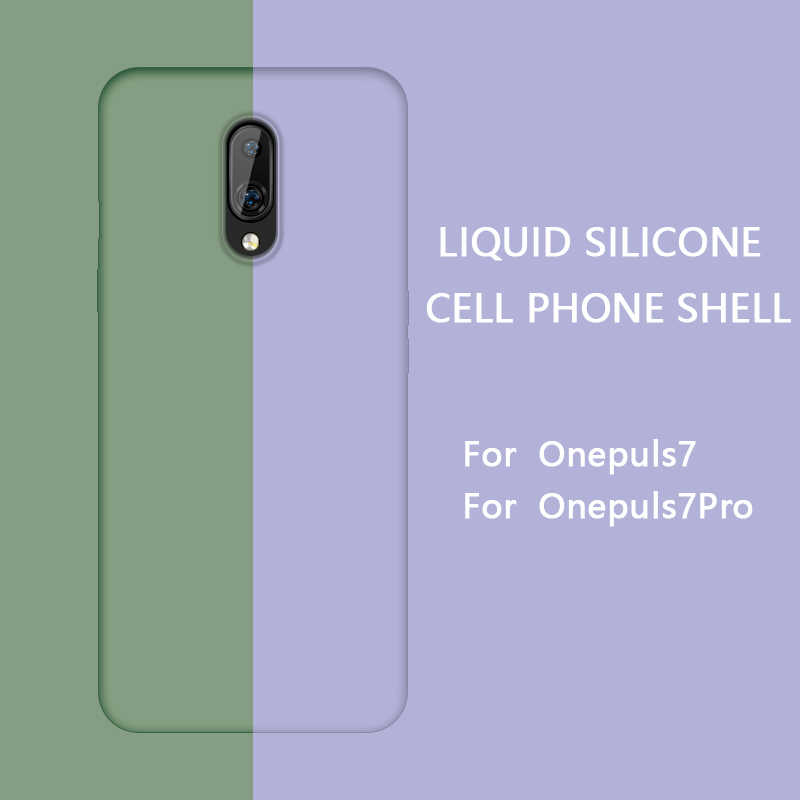 Oneplus 7 pro силиконовый защитный чехол задняя крышка MOFi 1 + 7 цветная защитная оболочка one plus 7 pro защитный мягкий чехол