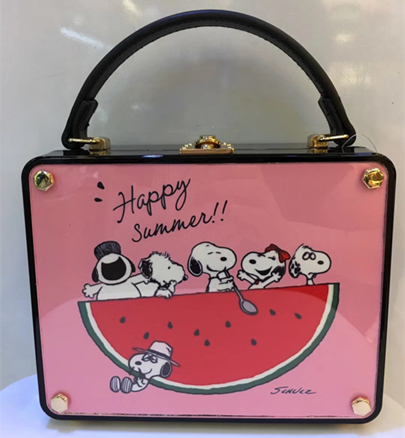 Fashion designer female handbag letter cartoon pattern design shoulder bag casual bag banquet bag walletFashion designer female handbag letter cartoon pattern design shoulder bag casual bag banquet bag wallet