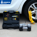 Bomba de aire del coche vaporizado coche bomba de compresores de aire del neumático cilindro singlecasing 12 v portátil