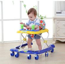 Baby Walker Car Function Children Baby Walker with Wheel Help Walk Learning Children Activity Adjustable Baby Walkers