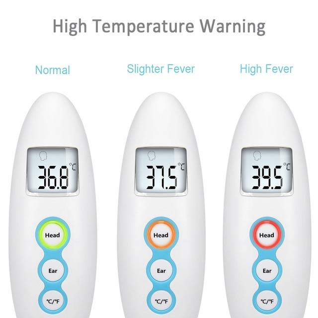 Baby Non-contact Thermometer Digitale Infrarood Thermometer Lichaam voor Kinderen Voorhoofd Oor Meting met Koorts Alarm Termometro 1