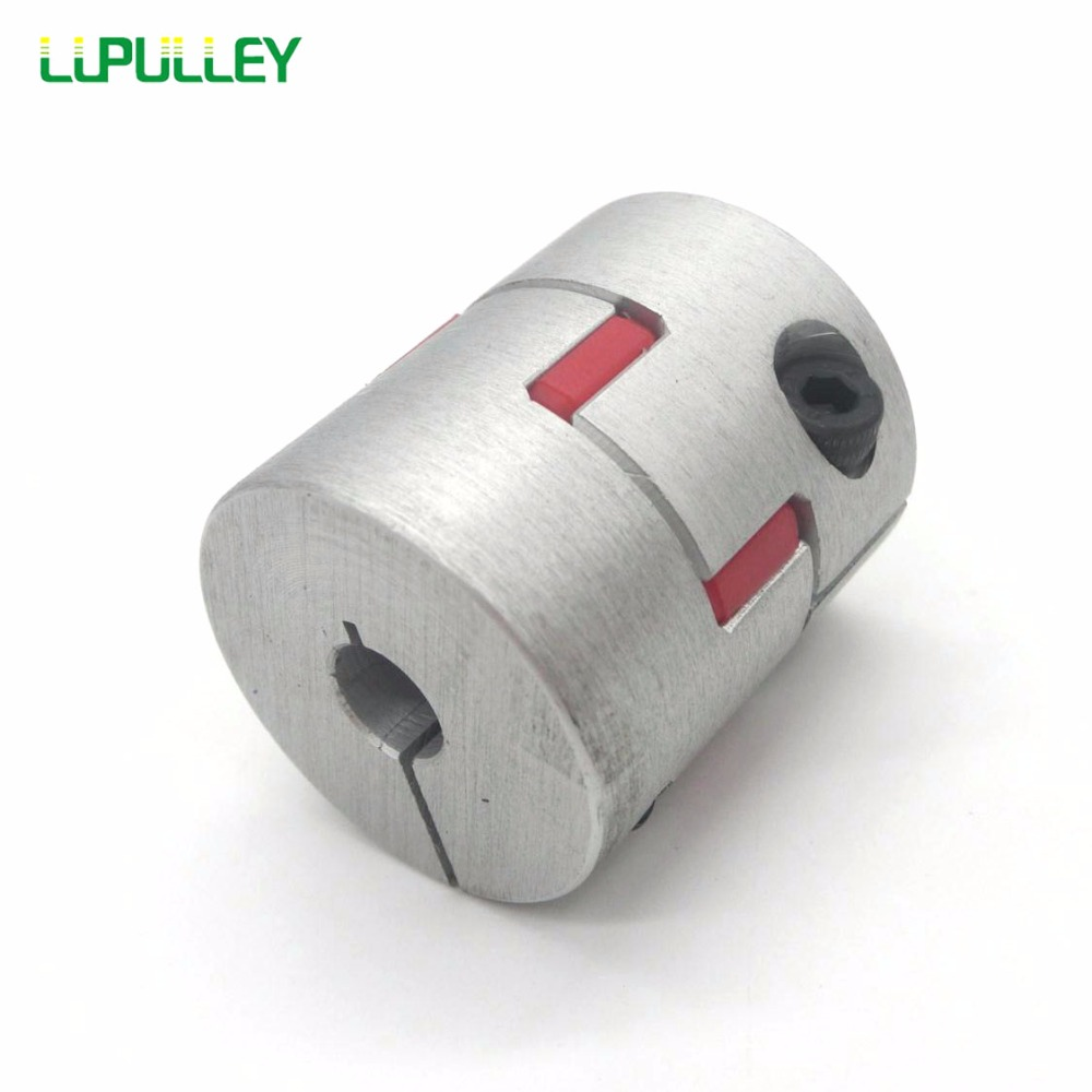 все цены на LUPULLEY Flexible Jaw Shaft Coupler Clamp Plum Spider Coupling D55mm*L78mm Bore 10/11/12/12.7/14/15/16/17/18/19/20/22/24/25/28mm