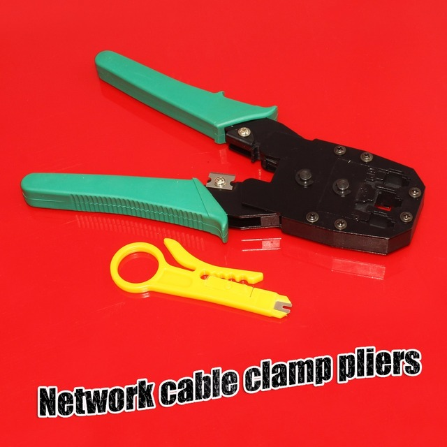 Network cable clamp pliers Networking Multi Tool RJ45 RJ11 4P/6P ...