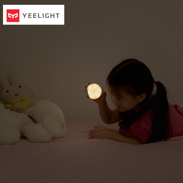 (USB Charge ) Xiaomi Mijia Yeelight LED Night Light Infrared Magnetic with hooks remote Body Motion Sensor For Xiaomi Smart Home 5