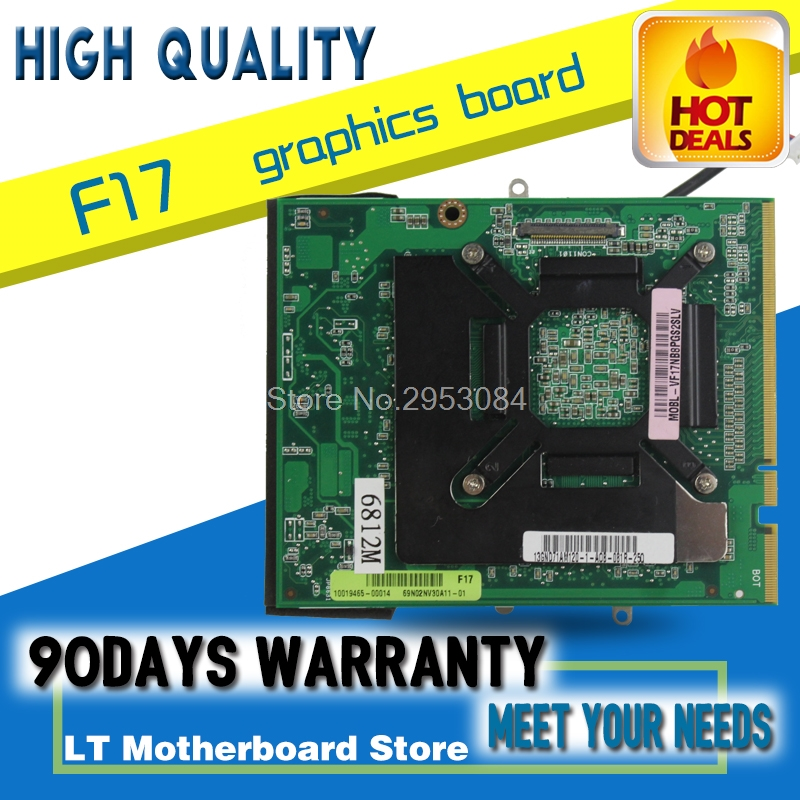 Original Video card For ASUS notebook F17 graphic card