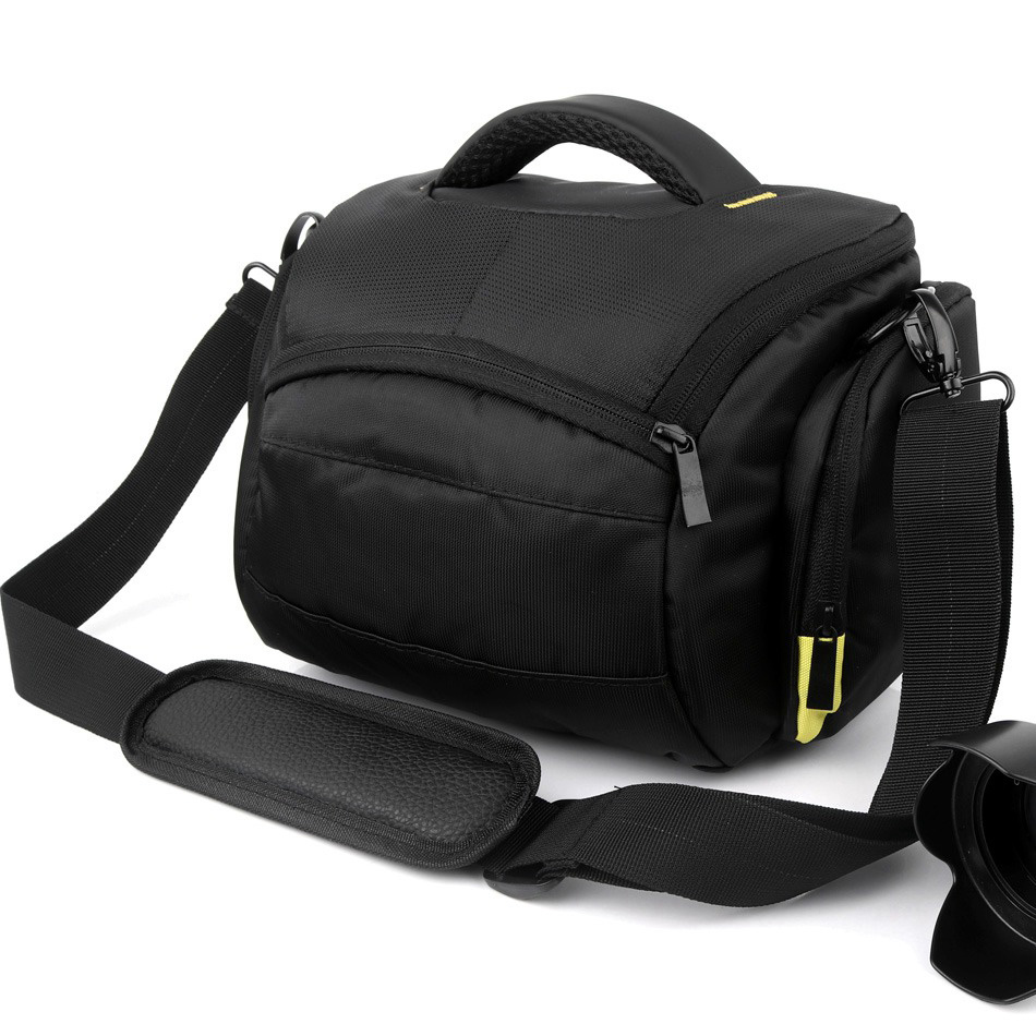Caso DSLR Cámara bolsa para Nikon D5300 D3400 D850 D7200 D7100 D7000 D5200 D5100 D5000 D3300 D3200 D3100 D7500 D80 d90 hombro