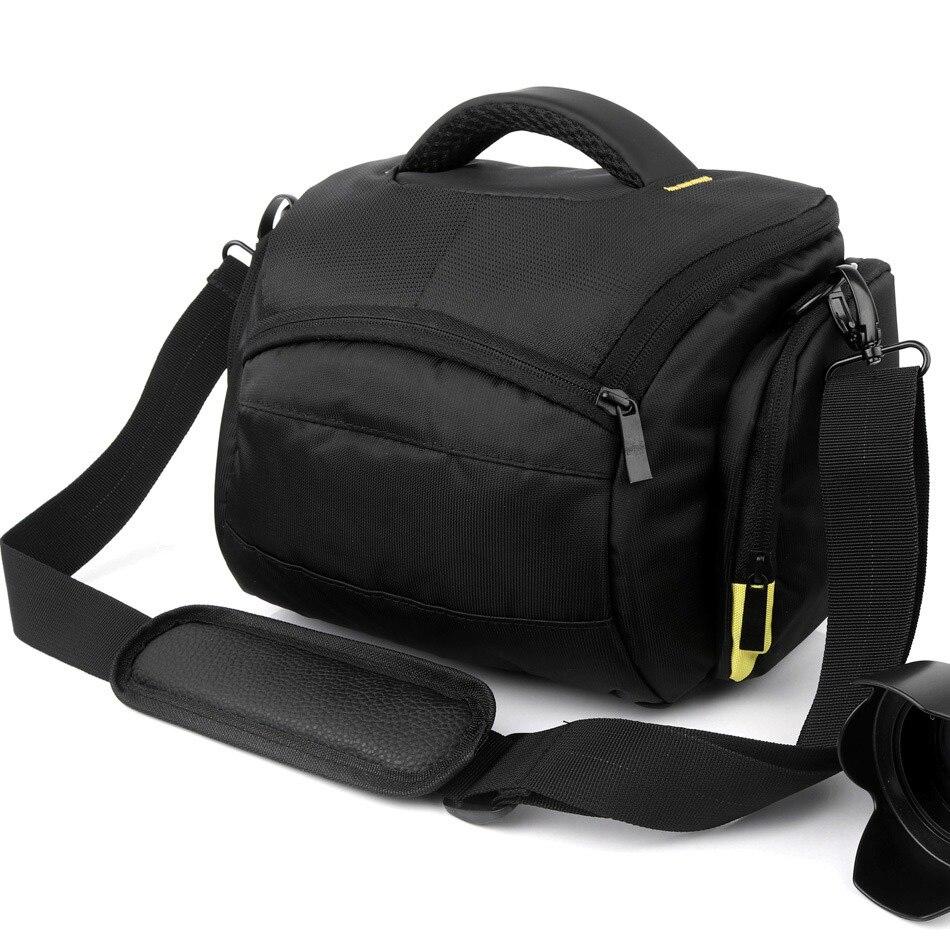 DSLR Camera Case Sac Pour Nikon D5300 D3400 D850 D7200 D7100 D7000 D5200 D5100 D5000 D3300 D3200 D3100 D7500 D80 d90 Épaule sac