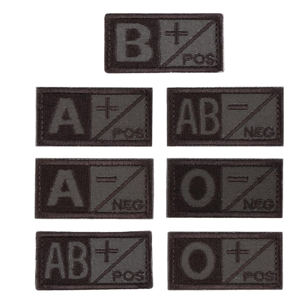 2015 Fashion 3D Blood Type A B AB O POS NEG Coyote Tan OD Green O Negative Hot Drop Shipping