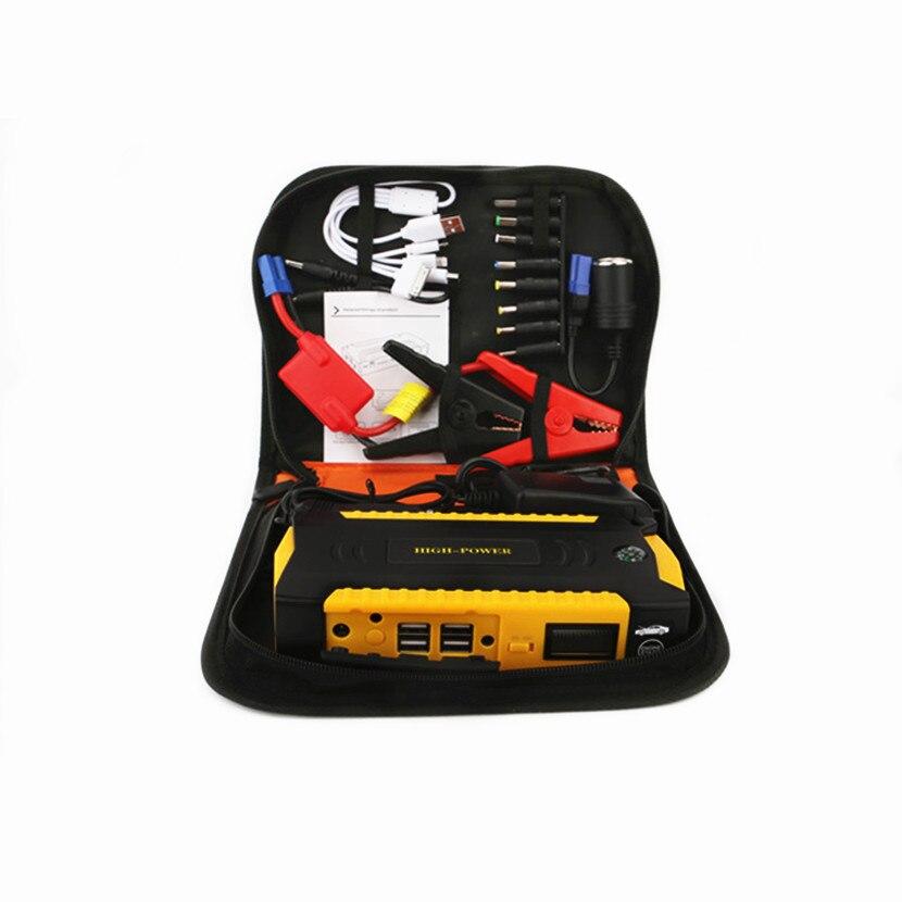 Автомобильное пусковое устройство, лучшее аварийное зарядное устройство, многофункциональное мини портативное зарядное устройство, пусковое устройство - Цвет: 16000 cloth bag