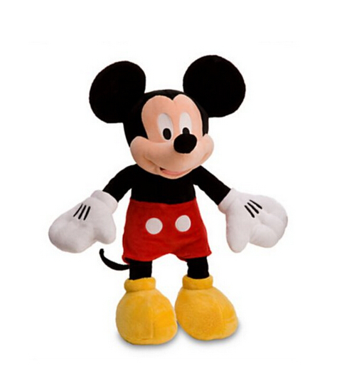 цены Original Mickey Minnie Plush Mickey Toys 48cm Pelucia Stuffed Doll Animals Toy Dolls Gift