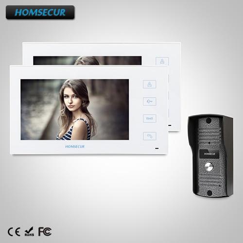 HOMSECUR 7 Wired Video Door Phone Intercom System+Touch Button : TC031  + TM704-W HOMSECUR 7 Wired Video Door Phone Intercom System+Touch Button : TC031  + TM704-W