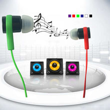 New 2016 Headphone Earphones headsets 3 5mm Super Bass stereo earbuds for mobile phone MP3 MP4