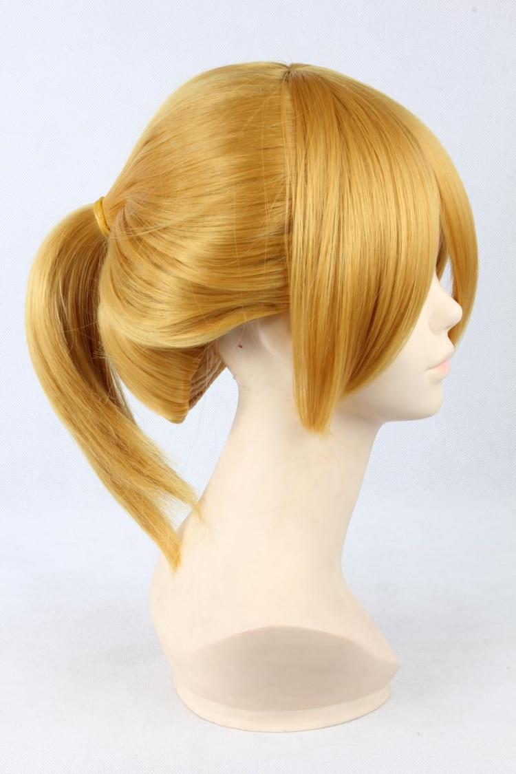 Kagamine Rin Len Short Cosplay Wigs Blonde Wig
