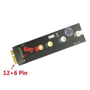 Image 2 - Ssd変換zenbookためM.2 (ngff) ssd 18ピンssdアダプタのサポート2230/2242/2260/2280ミリメートルM.2 ssd asus UX31 UX21 zenbook