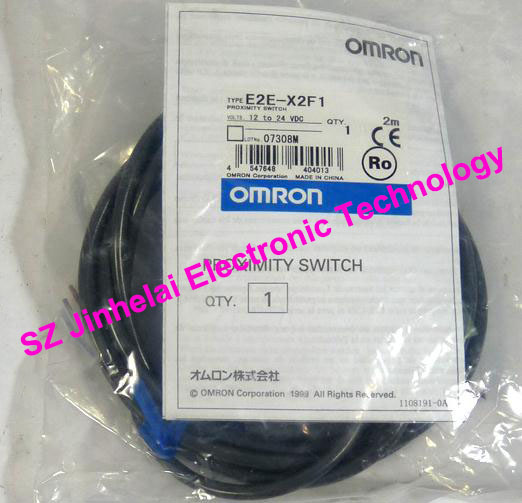 100% New and original E2E-X2F1, E2E-X2F1-Z OMRON Proximity switch, Proximity sensor 12-24VDC 2M new and original e2e x2d1 n z e2e x3d1 n z omron photoelectric switch 12 24vdc 2m