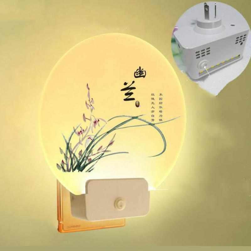 Bedroom Living Room Wall Lamp Girl Bedside Plug in Bed Decoration Night Baby Light Acrylic Stair Plug In Wall Light LED LightingBedroom Living Room Wall Lamp Girl Bedside Plug in Bed Decoration Night Baby Light Acrylic Stair Plug In Wall Light LED Lighting