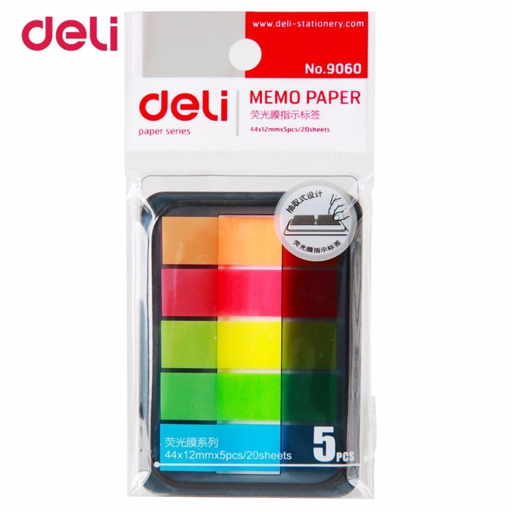 deli 9060 Inlägg Stickers och Pepsi Fluorescerande Film Indikator - Block och anteckningsböcker - Foto 5