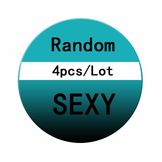 Free Shiping 4 PCS/Lot Brand Women Sexy Panties Hollow Transparent Thongs Lace Panties Underwear Seamless G String  Women Briefs 6