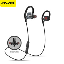 Magnetic Earpiece AWEI In-Ear Bluetooth Earphone Wireless Bluetooth Headphone With Microphone Auriculares For iPhone Sony Phones