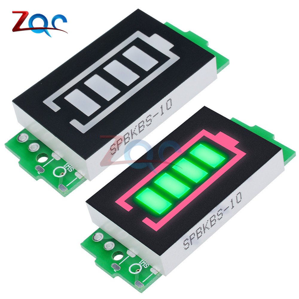 1S 2S <font><b>3S</b></font> 4S 6S 7S Series Lithium <font><b>Battery</b></font> Capacity <font><b>Indicator</b></font> Display Electric Vehicle <font><b>Battery</b></font> Power Tester Li-po Li-ion Module image
