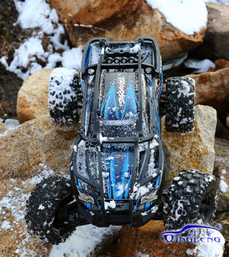 TRAXXAS X-MAXX 1/5 Shell Version Roll Cage RC Cars Vehicles Body Shell Protection Rollcage RC Car 1/5 XMAXX free shipping traxxas trx x maxx xmaxx rc crawler car raise head tires rear stand up wheels anti roll over tyres spare parts
