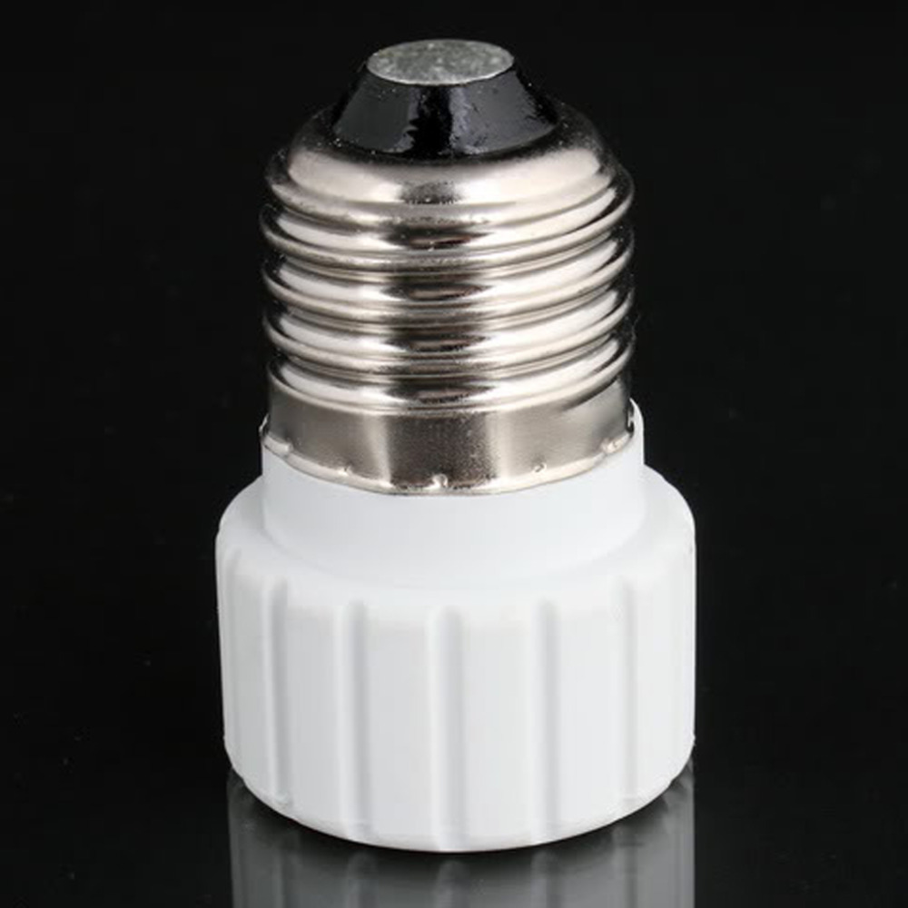 Worldwide 1pc Worldwide E27 to GU10 LED Light Lamp Bulbs Adapter Converter