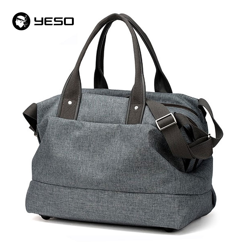 YESO Large Capacity Handbags Casual Tote Travel Duffle Bag 14 15.6 17 Inch  Laptop Messenger Shoulder ac436607b39f9