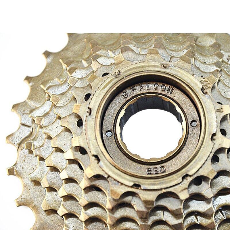 Mountain Bike 7 Speed Freewheel 14-16-18-20-22-24-28T  Flywheel With Threaded