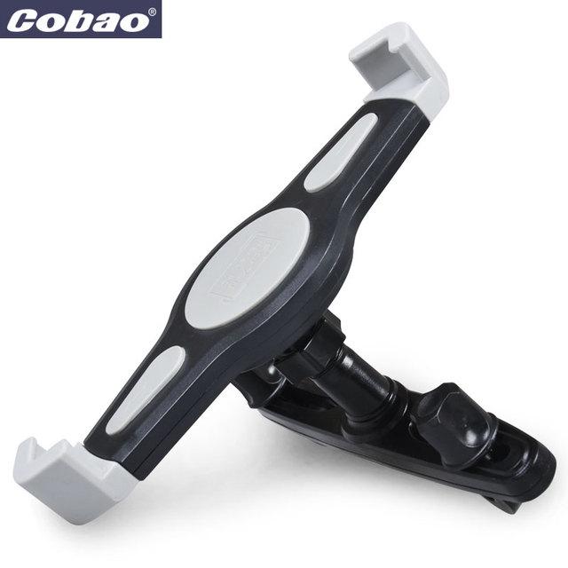 7-11 pulgadas tablet pc universal asiento trasero del coche titular cobao 360 grados de rotación de ángulo ajustable soporte de apoyo tablet pc