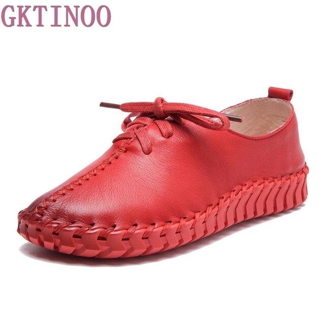 Big Size Women Casual ronde neus Soft Zolen Schoen Pure kleur Platte loafers