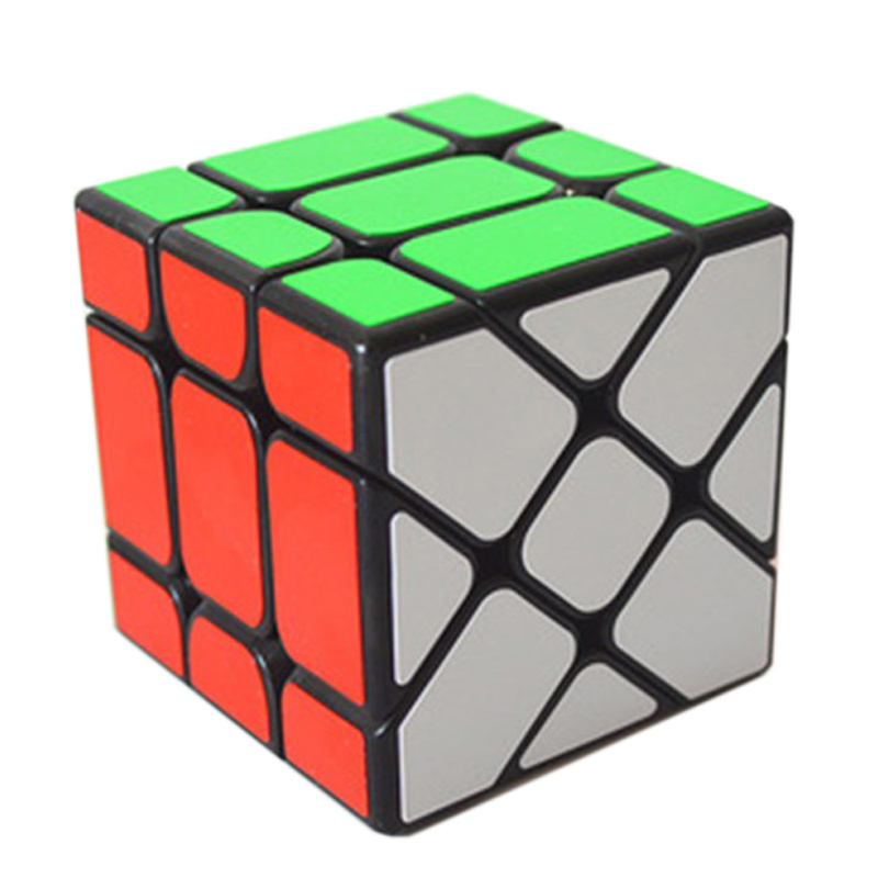 Magic Cube Professional 3x3x3 Rainbow Cubes Square Puzzle Speed Classic Toys Learning & Education For Children Kids TY0099
