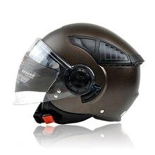 COMPRAS LIBRES! nueva llegada casco de moto casco medio casco de la cara de siete clases de color TAMAÑO Ml XL
