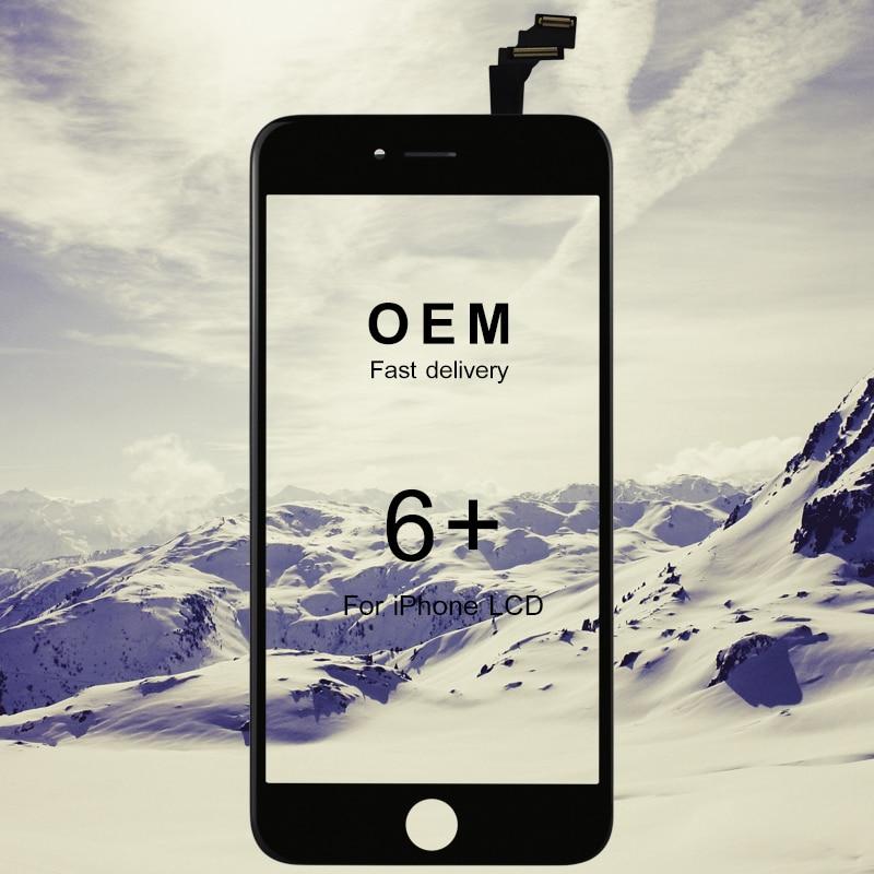 10 pcs Pour iphone 6 plus lcd OEM top qualité 5.5 pouce écran tactile de remplacement écran lcd pour iphone 6plus affichage pour iphone