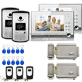 Chuangkesafe With SD card slot XSL Manufacturer  7Inch Video Door Phone for Apartments Home Security with Intercom System