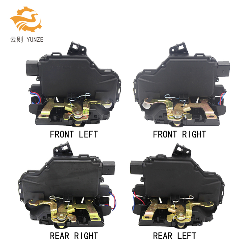 FRONT REAR LEFT RIGHT SIDE CENTRAL DOOR LOCK ACTUATOR FOR GOLF 4 IV MK4 SEAT SKODA PASSAT BORA LUPO NEW BEETLE цена