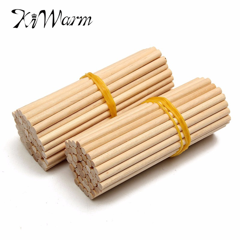 Best sale 100pcs 80mm round wooden lollipop lolly sticks for Cuisine wooden