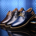 2017 Urban Casual Shoes New Fashion Genuine Leather Menbusiness Shoes Casual Plus Size Brand Leather Shoes Men Casual Shoes