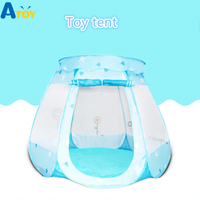 Play House Indoor and outdoor Toy Castle Ball Pool Pit Game Tent Play Hut Girls Garden Playhouse Kids Children Toy Tent